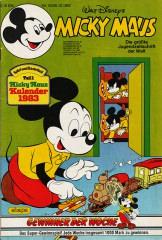 Micky Maus 52/1982 (m. Beilage / Z:1-)