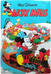 Blechschild Micky Maus Titelbild 12/1953 (40x60cm)