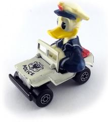 Donald Duck im Polizeiauto (MATCHBOX)