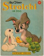 Strolchi im Zoo (Kleine Walt Disney Bilderbücher 27)
