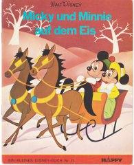 Micky und Minnie auf dem Eis (Kleine Disney-Bücher 11, Delphin Verlag)