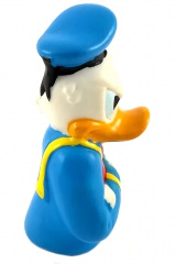 Fingerfigur Donald Duck grimmig