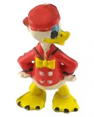 Donald Duck HEIMO Kleinfigur (rot) 5,5cm