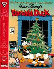 The Carl Barks Library of 1940s Donald Duck Christmas Giveaways in Color 1