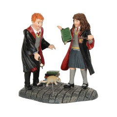 Ron und Hermine: Wingardium Leviosa! (Harry Potter Figur)