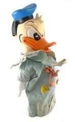 Handpuppe Donald Duck grimmig