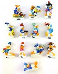 Donald Duck Porzellanfigürchen (12er Satz)