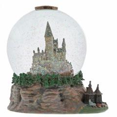 Hogwarts Schloss (Schneekugel mit Hütte) Harry Potter Figur