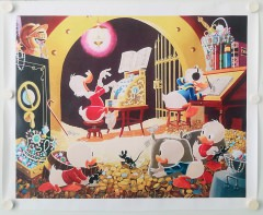 Carl Barks: Spoiling the Concert Canvas-Druck