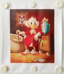 Carl Barks: The Money Lender Canvas-Druck
