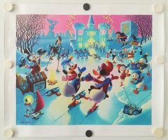 Carl Barks: Mardi Gras Before the Thaw Canvas-Druck