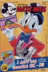 Micky Maus 33/1989 (m. Beilage / Z:1-)