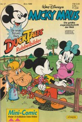 Micky Maus 17/1989 (o. Beilage / Z:1-2)