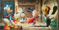 Carl Barks: Golden Fleece Canvas-Druck (61x30cm/24x12)