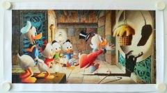 Carl Barks: Golden Fleece Canvas-Druck (61x30cm/24x12)