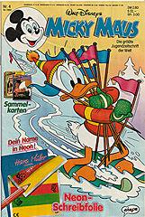 Micky Maus 4/1992 (m. Beilage / Z:0-1)