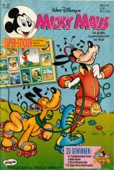 Micky Maus 22/1992 (m. Beilage / Z:0-1)