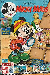 Micky Maus 3/1992 (o. Beilage / Z:1-2)