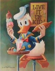 Carl Barks: Live It Up, Kid! Canvas-Druck