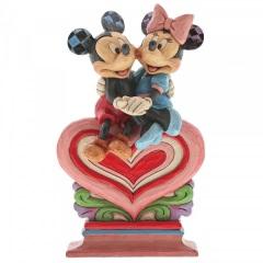 Herz an Herz (Micky und Minnie Maus Figur)