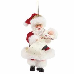 Merry Christmas Weihnachtsbaumhänger
