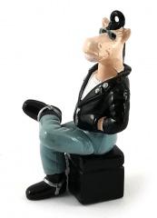 Werbefigur Mustang sitzend S.Oliver