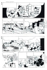 Daan Jippes: Wailing Whalers. Final ink. Seite 9