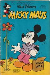 Micky Maus 25/1963 (o. Beilage / Z:1-2)