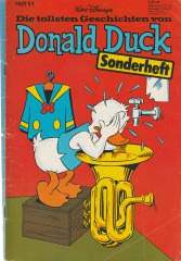 Die tollsten Geschichten von Donald Duck 61 (Z:2-)