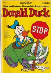 Die tollsten Geschichten von Donald Duck 25 (Z:2)