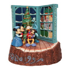Micky Maus Christmas Carol (DISNEY TRADITIONS Carved by Heart) Figur