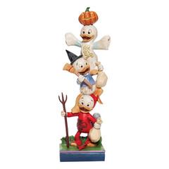 Wippende kleine Monster Tick, Trick and Track gestapelt (DISNEY TRAD.) Halloween-Figur