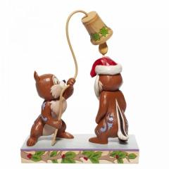 Weihnachtsfigur Ahörnchen und Behörnchen (Chip n Dale) DISNEY TRADITIONS