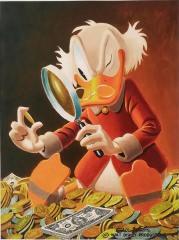 Carl Barks: The Expert Canvas-Druck (30x41cm/12x16)