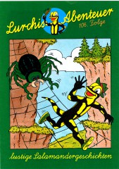Piit: Alle Zeichnungen zu Lurchis Abenteuer 106. Folge (6 Seiten + Vignetten)