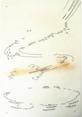 Piit: Rückseitentitel für Lurchi-Sammelband V, Zeichnung und Folienblatt