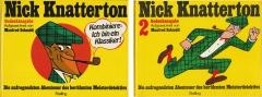 Nick Knatterton Gedenkausgabe. Die aufregendsten Abenteuer des berühmten Meisterdetektivs. Band 1 und 2