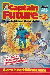 Captain Future 59: Alarm in der Höllenfestung