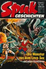 Spukgeschichten 170: Die Monster aus dem Lava-See und andere Gruselstories