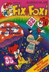 Fix und Foxi 1/1983 (m. Beilage / Z:1)