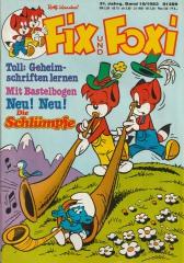 Fix und Foxi 16/1983 (m. Beilage / Z:0-1)