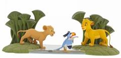 Simba & Zazu Mächtiger König ENCHANTING DISNEY Figur