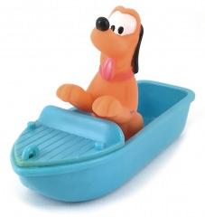 Pluto in sports boat small figure