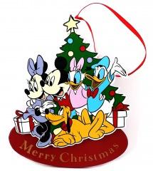 Weihnachtshänger Micky & Freunde Merry Christmas (KURT S. ADLER)