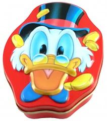 Flachdose Dagobert Duck