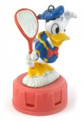 Duftspender Donald Duck mit Tennisschläger (verbeult)