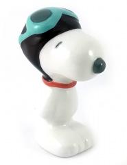 Snoopy mit Pilotenbrille Kleinfigur Keramik 6cm