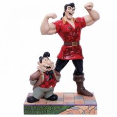 Gaston and Lefou: Muskulöse Bedrohung DISNEY TRADITIONS Figur