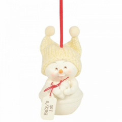 Weihnachtsbaumhänger Babys erste Weihnachten (Babys 1st) SNOWPINIONS (Enesco 6003283)