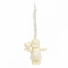 Weihnachtsbaumhänger Cat Lady SNOWBABIES (Enesco 6003525)